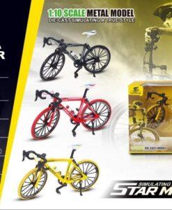 0818-4A_1-10 Die Cast Bike_1:10合金自行車