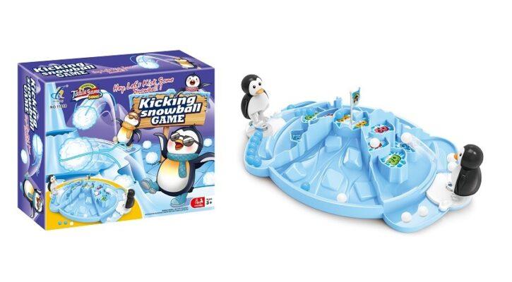 11818_Kicking SnowBall Game Set_企鵝雪球挑戰賽