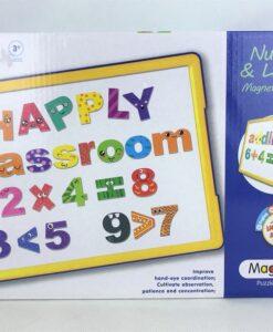 123-1學習系列Learning Series-英文數字磁貼畫板
