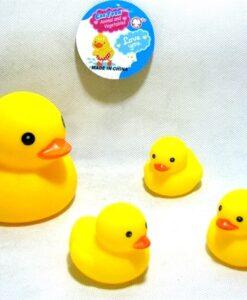 137A-3_Showers yellow duck set_大小沖涼黃鴨仔套裝(1大3小)