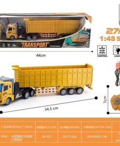 161-3_1:48四通燈光工程拖車_1:48 R/C TRANSPORT ENGINEERING CAR