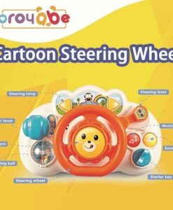 18005-卡通兒童聲光方向盤 包電_CARTOON STEERING WHEEL (WITH BATTERY)