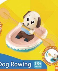 18006-划艇淘氣小狗洗澡玩具_Winding Dog Rowing Bath Toys