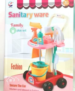 5983A_Family play set Sanitary ware (pink)_清潔套裝(粉色)