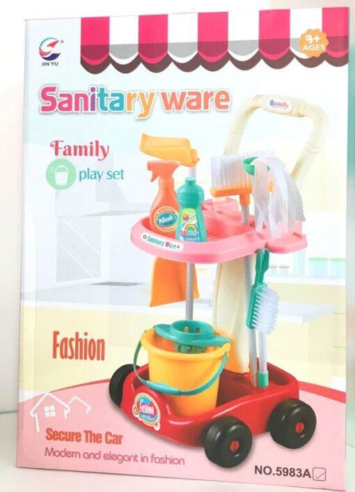 5983A_Family play set Sanitary ware (pink)_清潔套裝(粉色)