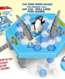 61788_Penguin Tnap Game Set_企鵝破冰台遊戲