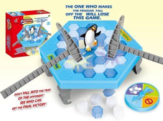 61788_Penguin Tnap Game Set_企鵝破冰台遊戲