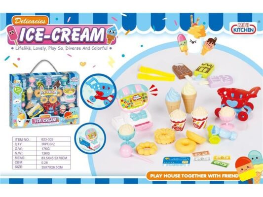 623-302_MINI KITCHEN ICE CREAM SET_迷你雪糕套裝