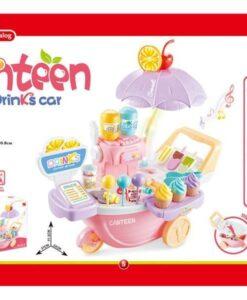 668-57_Canteen Drinks Car_燈光音樂繽紛果汁大蓬車