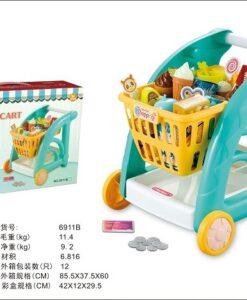 6911B_Boy Shopping Cart Set_男孩購物車套裝