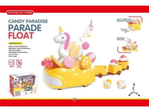 777-1 Candy Paradise--Light & Sound Donut float