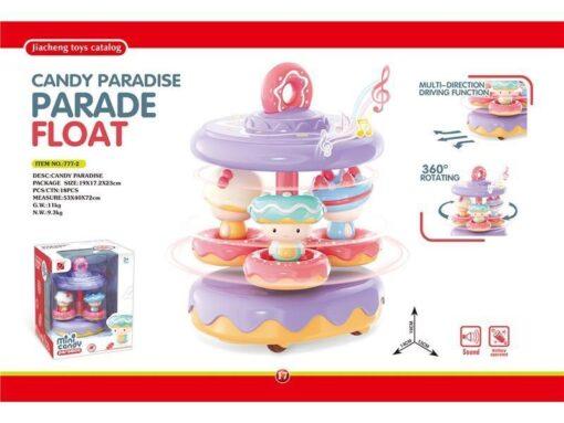 777-2 Candy Paradise--Light & Sound Donut float