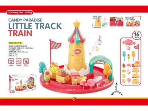 777-4 Candy Paradiset--Light & Sound Little Track Train