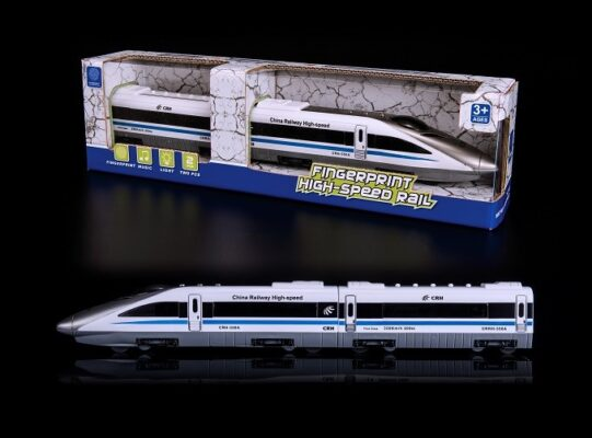 7815-A21_FINGERPRINT HIGH SPEED RAIL TRAIN_指紋感應電動高鐵