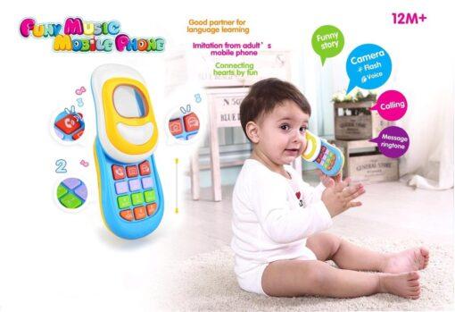 8002-趣味音樂手機_Spring Flower Funny Musical Mobile Phone