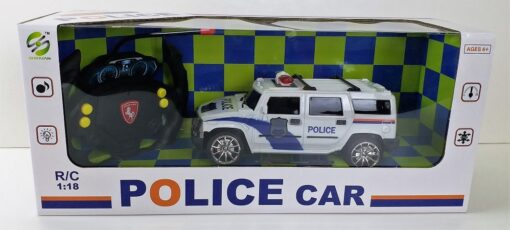 888-7_1:16 4通亮燈遙控員警跑車_1:24 WITH LIGHT REMOTE CONTROL POLICE CAR