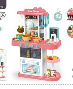 889-164_Spraying Kitchen Set with light and sound_燈光音樂電動噴霧出水廚房套裝