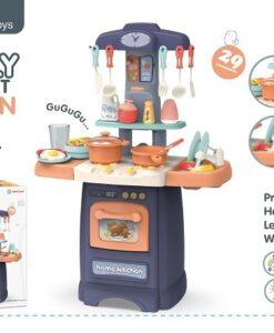 889-175_Cook Fun light & sound kitchen play set(Wash dishes)_開心廚房聲光玩具組合(水龍頭出水功能)