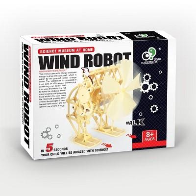 EK-D041-Exploring Kid_科學玩具_風力驅動機器人_Wind Beast