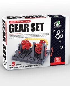 EK-D081-Exploring Kid_科學玩具_手動齒輪組合_Gear Set