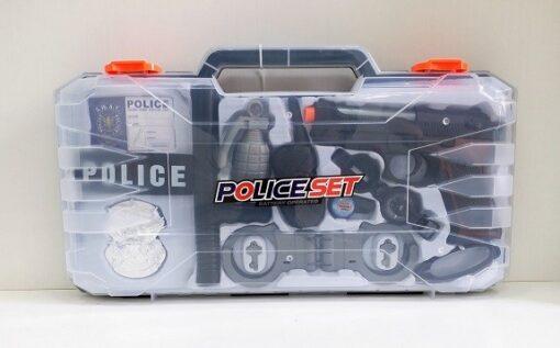 HSY-051_Police Set_電動警察手提盒套裝