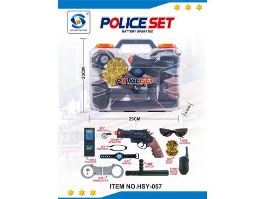 HSY-057_Police Set_電動警察手提盒套裝