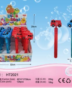 HT2021_Police car and Fire Truck Bubble Stick (2 types)_警車﹑消防車泡泡棒 (2款)