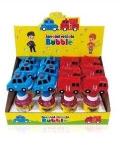HT2030_Police Car and Fire Truck Bubble Stick(2 types) (English packaging)_警車、消防車泡泡棒 (2款)(英文包裝)