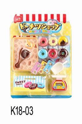 K18-03_MINI FOOD SET - DONUT SHOP_迷你食物套裝 - 甜甜圈店