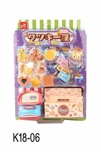 K18-06_MINI FOOD SET - BISCUIT SHOP_迷你食物套裝 - 餅乾店