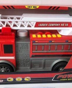 MQ820_FIRE TRUCK (WITH LIGHT & SOUND)_聲光噴水消防車