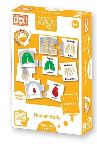 PA9043-LEARNING KITD'S-人體結構配對學習遊戲_Human Body