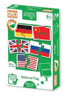 PA9080-LEARNING KITD'S-國旗配對學習遊戲_Natonal Flag