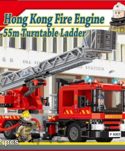 RT37-消防車_五十五米鋼梯_Hong Kong Fire Engine_55m Turntable Ladder_1