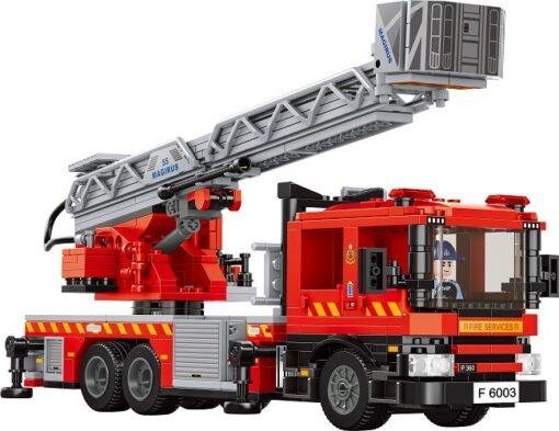 RT37-消防車_五十五米鋼梯_Hong Kong Fire Engine_55m Turntable Ladder_5
