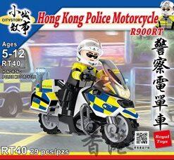 RT40_警察電單車_CITY STORY - HONG KONG POLICE MOTORCYCLE (R900RT) ( 29Pcs/Pzs)