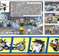 RT40_警察電單車1_CITY STORY - HONG KONG POLICE MOTORCYCLE (R900RT) ( 29Pcs/Pzs) @48