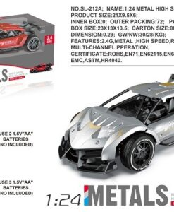 SL-212A_1:24 R/C METAL HIGH SPEED CAR(2 COLORS)