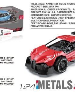 SL-213A_1:24 R/C METAL HIGH SPEED CAR(2 COLORS)