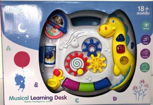 WD3628-燈光音樂恐龍學習機_Digo Musical Learning Desk