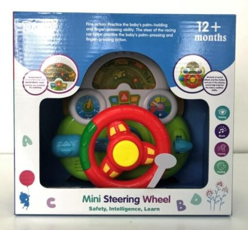 WD3740-趣緻燈光音樂駕駛盤_Digo Mini Steering 1