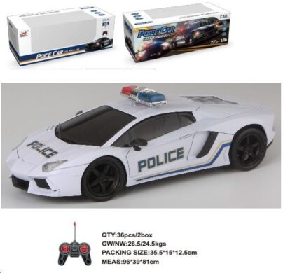 WH327-3H_1:16 4通亮燈遙控員警跑車_1:16 WITH LIGHT REMOTE CONTROL POLICE CAR