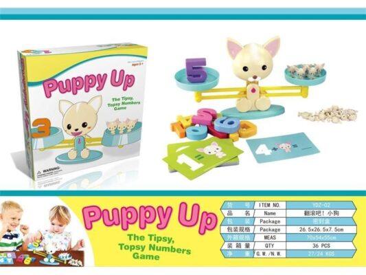 YDZ-02-趣味小狗平衡天秤遊戲_Fun Puppy Balance Game