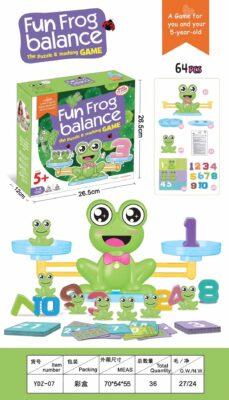 YDZ-07-趣味青娃平衡天秤遊戲_Fun Frog Balance Game
